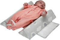 Baby Sleep Positioners Crib Wedge - Baby Pillow for Newborn Infant - Adjustable