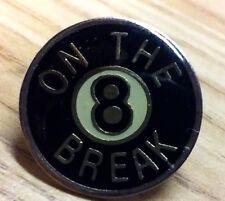 8 Ball On The Break pin pool billiards
