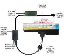 External Laptop Battery Charger for Lenovo 3000 G430 G450 G550, L08L6Y02 51J0226