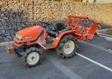 Kubota Traktor mit Bodenfräse - Diesel - 4x4 Allrad Kommunaltraktor Kleintraktor