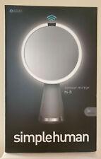 Simplehuman Sensor Mirror with Alexa, 5X Magnification, NEW, In Box