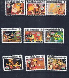 Turks & Caicos 1980 Christmas – Disney Pinocchio (G52) – Free postage