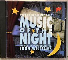 Boston Pops John Williams Music of the Night on Broadway 1990 Show Tunes CD NICE