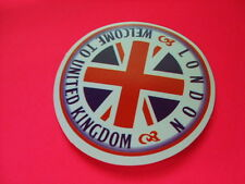 WELCOME TO UK Sticker/ Decal Bumper Stickers Actual Pattern NEW