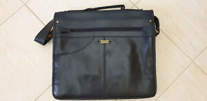 Vintage Leather Briefcase by Hidesign