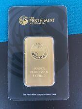 1 oz Gold Barren Perth Mint Australia