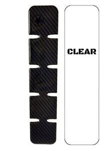 Bike Armor Flex Shield PLUS, Downtube Protector, Carbon