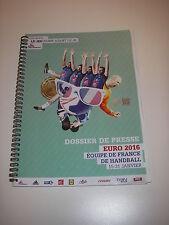 Dossier de presse HANDBALL euro 2016 Équipe de France