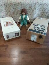 "Annette Himstedt Melvin 26"" Doll 1994 11805-9993 W/Org Box & Shipping Box"