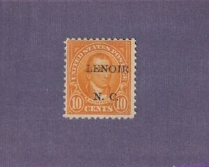 Lenoir North Carolina 1912 10 cents CV $7.50