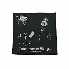 Darkthrone Transilvanian Hunger Woven Patch Official Merchandise
