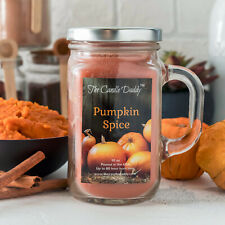 Pumpkin Spice mason jar candle by The Candle Daddy™ 80 hour NEW fall winter NEW
