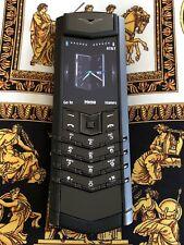 Genuine Vertu Signature S Black PVD Flagship Phone Most sought after Super RARE