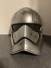 Disney Store CAPTAIN PHASMA Voice Changing Talking Helmet Mask Star Wars 2017