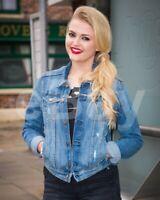 """Coronation Street (TV) Lucy Fallon """"Bethany Platt"""" 10x8 Photo"""