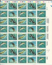 U. S. Scott #2508 - #11 SEA CREATURES Full Sheet PL#2222 MNH Cat. $30 (JK139)
