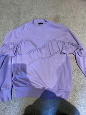 topshop purple jumper Size 8