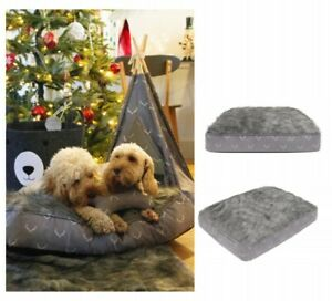 Wolf and Tiger Grey Lifestyle Antler Hygge MATRESS Dog Bed