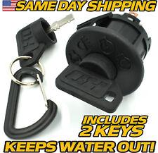 Cub Cadet, MTD, Troy-Bilt 925-1741, 725-1741 Ignition Switch 2 Keys & Keychain