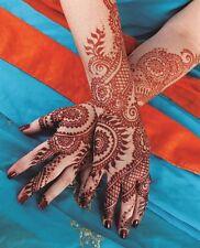 India Herbal Red Henna Cones Temporary Tattoo Body Art Ink 3 pcs