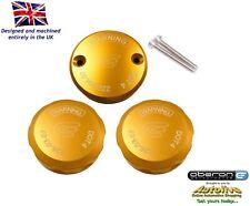 Oberon Performance Gold Aprilia Reservoir Cap Set RES-0003/0004-GOLD
