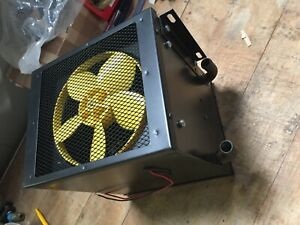 Ex Military vehicle Heater unit inlet and outlet fan motor radiator etc brand ne