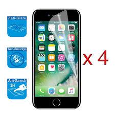 4 X Protector protector Film Lámina Cubierta De La Pantalla Para Iphone 7 Frontal LCD Protector