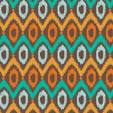 Fabric Western Aztec Indian Sunset Blanket Geometric on Cotton 1 Yard *3*