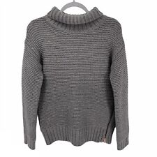Lululemon Gray Karma Kurmasana Wool Turtleneck Women's Sweater Size 6