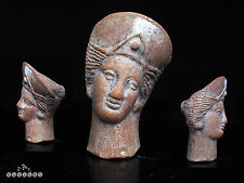 4th - 1st C. BC Roman / Etruscan Terracotta Votive Head of Goddess / Venus
