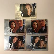 PROMO CARDS: THE X-FILES CONNECTIONS: 5 DIFFERENT P1, PP-1, PP-UK, P-UK & #P-FOA