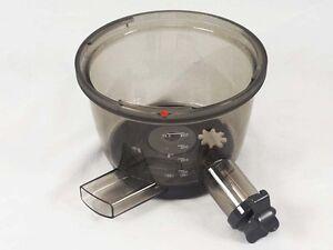 Kenwood ciotola vasca recipiente estrattore Pure Juice PRO JMP80 JMP800 JMP802