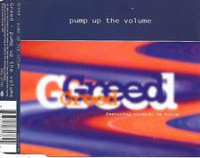 GREED - Pump up the volume CDM 7TR Euro House Hip-House 1995 (Jive) Holland