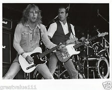 RICK PARFITT STATUS QUO PHOTO LONDON 1986 10INCH UNRELEASED UNIQUE HAND PRINTED