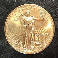 1992 American Gold eagle 1/2oz $25 Gold Coin - High Quality Scans #E587