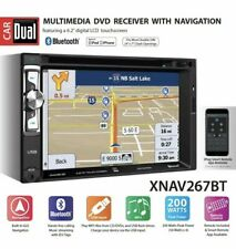 "Dual XNAV267BT 6.2"" LED Backlit Car Stereo with Built-In Navigation™"