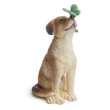 Miniature Dollhouse Fairy Garden Dog With Butterfly