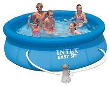 Intex 28122GN Easy Set Aufstell-Pool, blau, Ø 305 x 76 cm