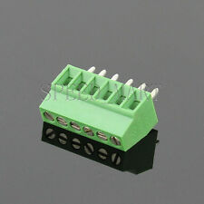 6 poles/6 Pin 2.54mm 0.1'' PCB Universal Screw Terminal Block Connector