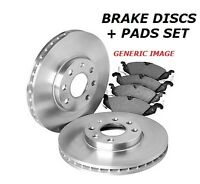 FOR HYUNDAI iX20 1.4 1.6 1.4DT 1.6DT FRONT VENTED BRAKE DISCS and BRAKE PADS SET