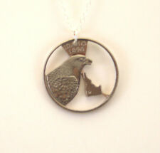 Idaho, Cut-Out Coin Jewelry, Necklace/Pendant