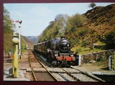 POSTCARD LOCO 'ERIC TRACEY' APPROCHING GOATHLAND STATION