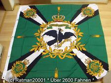 Banderas bandera estandarte verde con cruz Prusia premium - 150 x 150 cm