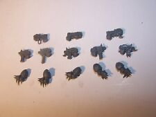 Chaos Raptor / Warp Talons Bolt Pistols, Plasma Pistols and Arms (bits auction)