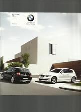 BMW SERIE 1, tra cui se ES & M Sport Modelli listino prezzi OPUSCOLO MARZO 2007
