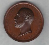 1886 COLONIAL & INDIAN EXHIBITION BRONZE MEDAL IN HIGH GRADE CONDITION.