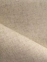 Natural Oatmeal 32 count Zweigart Floba Linen mix evenweave fabric 50 x 70 cm