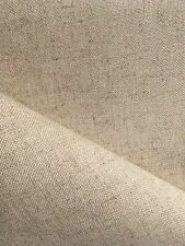 Natural Oatmeal 32 count Zweigart Floba Linen mix evenweave fabric 50 x 138 cm