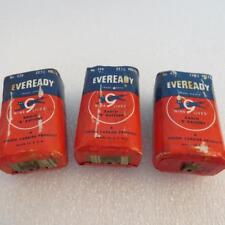"""Eveready 420 Lot of 3  22-1/2 Volt Nine Lives Radio """"B"""" Battery (not working)"""