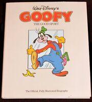 Walt Disney Studios Goofy Good Sport BOOK Animation History 1985 First Edition